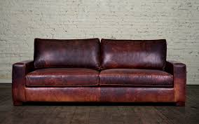 Best Leather Furniture Restoration Hardware Maxwell Sofa Leather Best Home Furniture