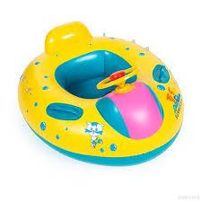 bouée siège pour bébé 1pcs bébé bébé piscine de sécurité réglable pare soleil flotteur
