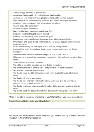 key stage 4 spoken english teaching resources teachit english