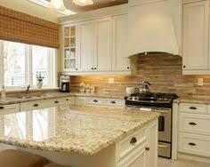 backsplash kitchens brown travertine mix kitchen backsplash tile from backsplash com