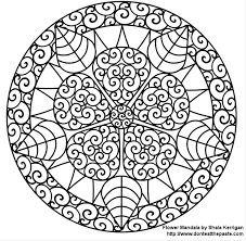 printable mandala free coloring pages art coloring pages
