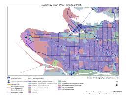 Vancouver Skytrain Map Analysis Broadway