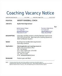 basketball coach resume sample high football cover letter