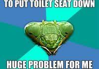 Toilet Seat Down Meme - lovely toilet seat down meme takes you two seconds to put toilet