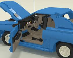 1994 Mustang Gt Interior 1994 Ford Mustang Gt A Lego Creation By Justin Davies Mocpages Com