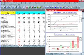 business plan projections template screen shot business plan
