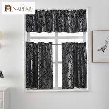 Kitchen Curtains by Online Get Cheap Modern Kitchen Curtains Aliexpress Com Alibaba