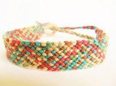 Rag Rug Bracelet Super Skinny Custom Friendship Bracelet Crafty Motmot Narrow Thin