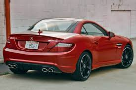 convertible mercedes red used 2014 mercedes benz slk class slk55 amg pricing for sale