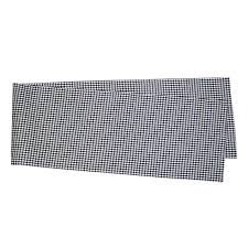 houndstooth table runner at home at home