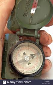 Usa Map With Compass by Military Compass Usa Navigation Map Stock Photos U0026 Military