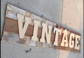 old barn wood vintage sign diy repurposelifeblog