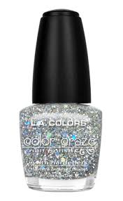 l a colors color craze nail polish glitter bomb 0 44 fl oz 13 ml