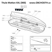Audi Q5 Thule Motion 900 - náhradní díly thule motion xxl 900 obchod thule cz