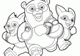 disney junior coloring pages coloring4free
