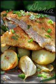 la cuisine de dorian escalopes de veau milanaise pommes de terre confites au romarin
