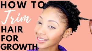 best days to cut hair for growth how to trim your natural hair for hair growth youtube