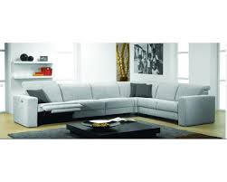 Fabric Sectional Sofa Artemis Fabric Sectional Sofa With Electric Recliner By Rom