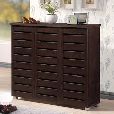 wayfair kitchen storage cabinets darby home co 20 pair slatted shoe storage cabinet reviews
