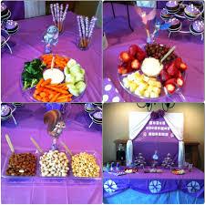 sofia the party ideas sofia the party food and table setup done