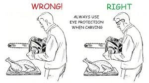 thanksgiving turkey with power tools the about knives