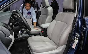 subaru forester interior 3rd row 2014 subaru forester prototype quick drive motor trend