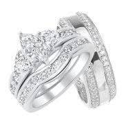 His And Hers Wedding Ring Sets by Wedding Ring Sets For Him U0026 Her