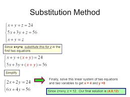 10 substitution
