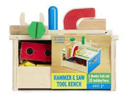 Jo Bench Age Amazon Com Melissa U0026 Doug Hammer And Saw Tool Bench Wooden