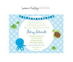 items similar to diy the sea baby shower invitation on etsy