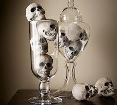321 Best Diy Halloween Images On Pinterest Halloween Wreaths by Mini Skull Vase Filler Find Them On Suitehoneydo Com Halloween