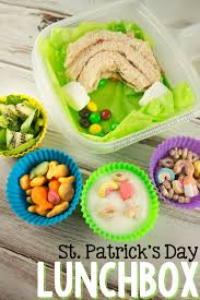 st patrick u0027s day kids creative lunch box ideas a mom u0027s take