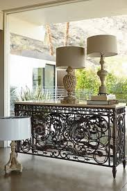 Iron Sofa Table by Best 25 Wrought Iron Console Table Ideas On Pinterest Iron