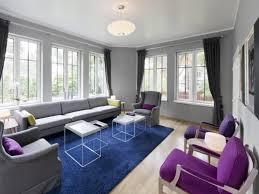 purple living room cushions for white living room