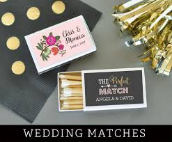 personalized wedding matches wedding matches personalized matches match box wedding
