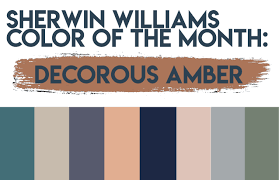 sherwin williams color sherwin williams color of the month decorous amber paula ables