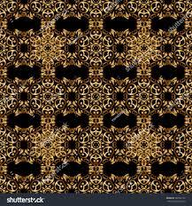 golden ornament gold filigree stock vector 569552122