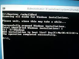 windows rt 8 1 upgrade fails with boot configuration error