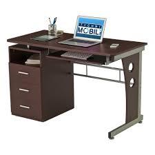 Personal Computer Desk Techni Mobili Computer Desk With Ample Storage
