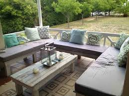 Pallet Patio Furniture Cushions With Cushions Patio Furniture Wondererme Outdoor Sofa