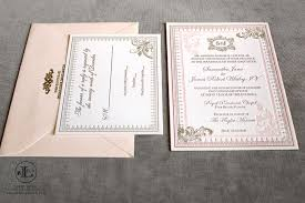 Blush Wedding Invitations Blush Letterpress Wedding Invitations U2014 Lela New York Luxury