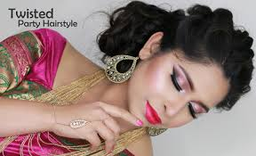 indian bridal hairstyle bridal hairstyle updo wedding party hair style