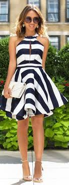 black and white dresses best 25 white flare dress ideas on white dress with