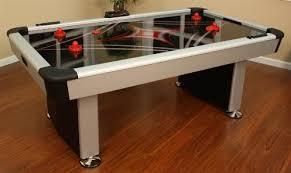Best Air Hockey Table by Best Hockey Equipment American Heritage 390070 Electra Air Hockey