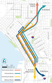 Federal Way Seattle Map by One Center City Potential Near Term Mobility Strategies Change