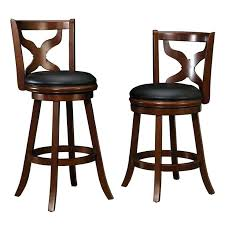 Counter Height Chairs With Back Bar Stool Tribecca Home Verona Panel Back Linen Swivel 24 Inch