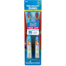 oral b stages cars toothbrush twin pack walmart com