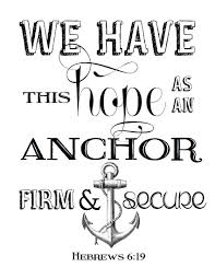 Love Anchors The Soul Hebrews - free printable our tennessee home