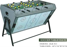 3 in one foosball table 3 in 1 multi game table buy 3 in 1 foosball table multi game table