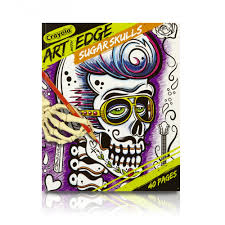 crayola art with edge sugar skulls 40 u0026nbsp premium coloring